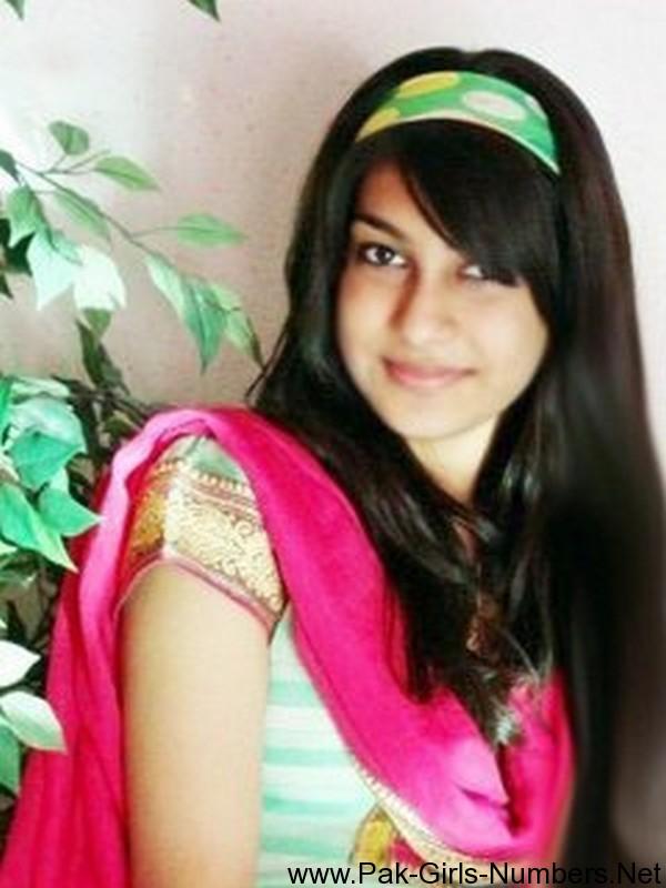 pakistani girls phone number